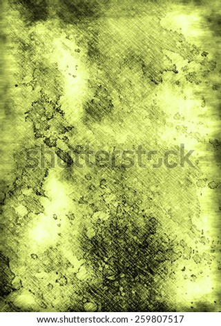 green Highly detailed grunge abstract textured collage design - stock photo