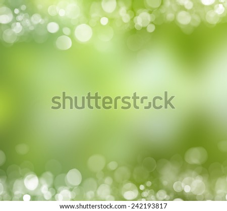 Green leaf reflecting in river water, closeup. - stock photo