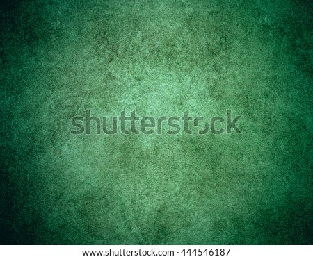 Green leather background, grunge background. - stock photo