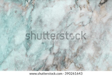 Green light marble stone texture background - stock photo