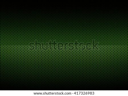 Green Metal Plating, background - stock photo