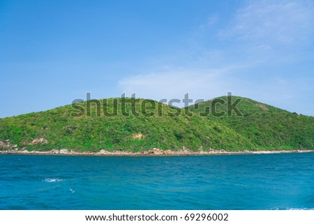 Green Mountains - stock photo