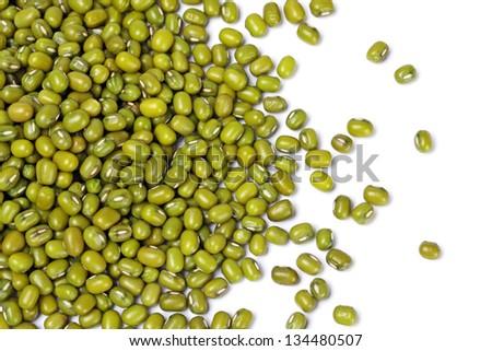 Green mung beans - stock photo