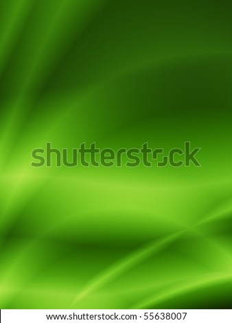 green nice abstract background - stock photo