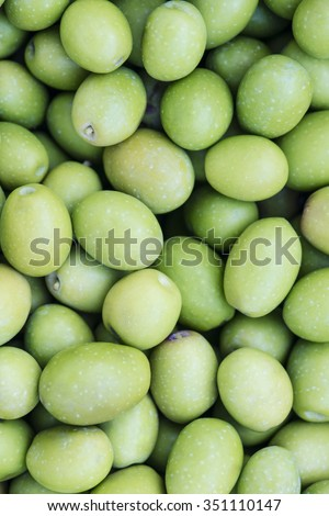 green olives - stock photo