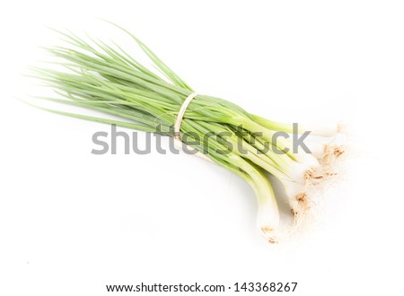 Green Onion - Natural food for health - stock photo