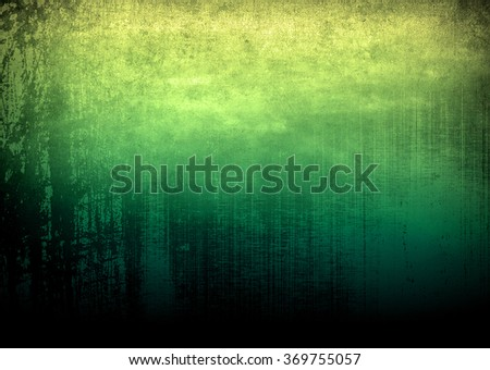 green paint background - stock photo