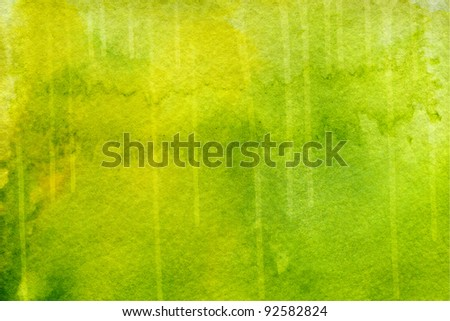Green painted abstract background - stock photo