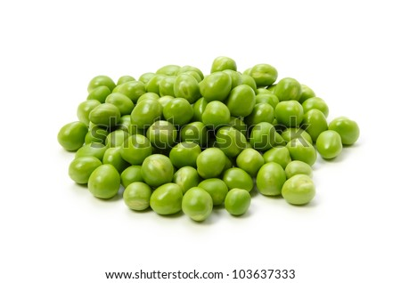 green pea - stock photo