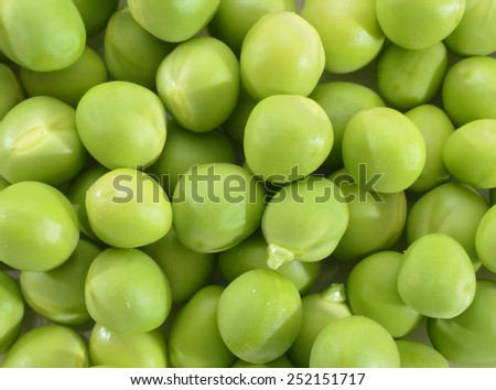 Green Peas background texture vegetable  - stock photo