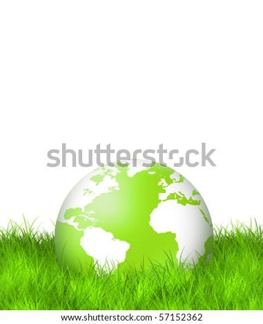 Green Planet - stock photo