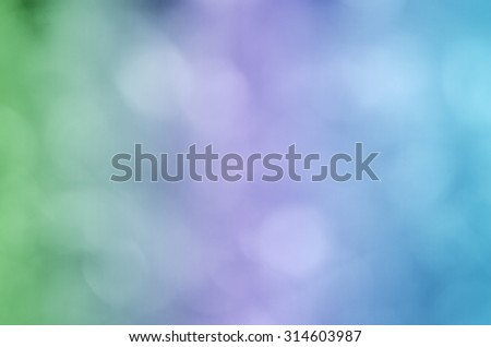 Green purple blue abstract blurry background - stock photo