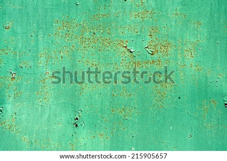Green Rusty Background for Your Design. - stock photo