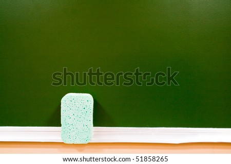green school board as background for your illustrations - stock photo