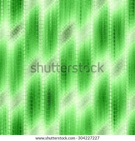 green seamless weaving texture pattern under glass - stock photo