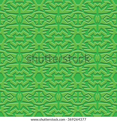 green square abstract monochrome seamless wallpaper - stock photo