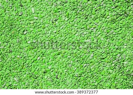 Green stone wall seamless pattern - stock photo