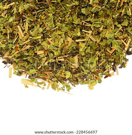 green tea - stock photo