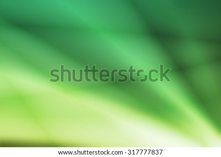 green to white gradient color curve line abstract background - stock photo