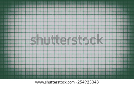 green Vintage lined paper background - stock photo