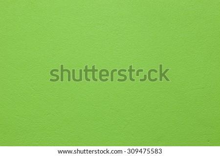 green wall - stock photo