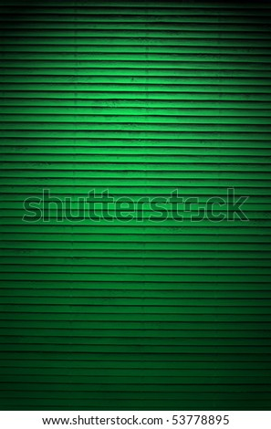 green wall, bamboo texture for background - stock photo