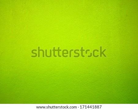 Green Walls - stock photo