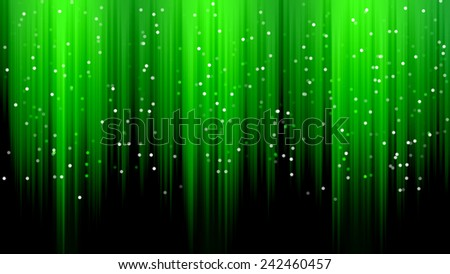 Green wave backgrounds - stock photo
