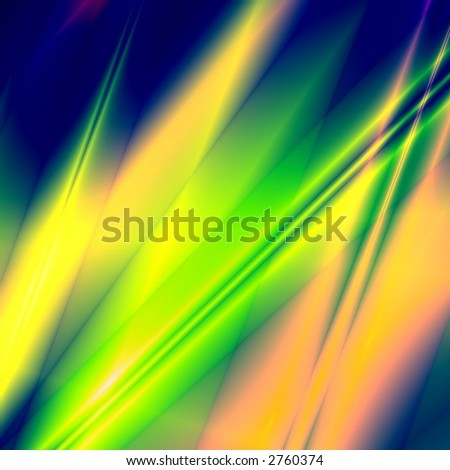 Green-yellow fantasy background - stock photo