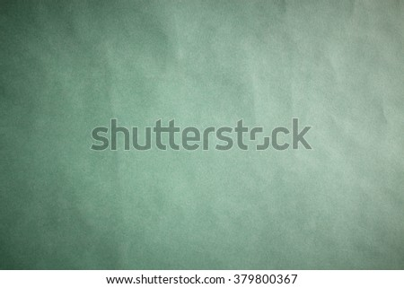 green yellow paper background texture paper sheet horizontal vignette - stock photo