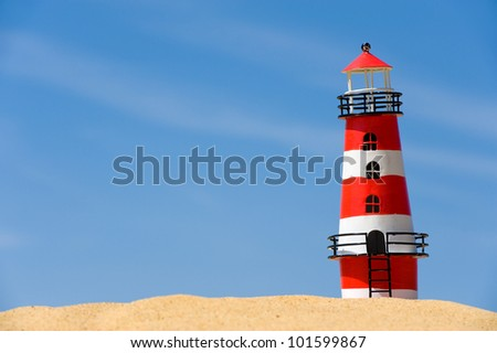 greeting from the coast - stock photo