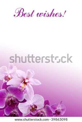 greeting letter - stock photo