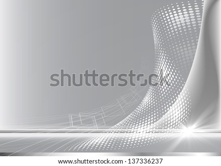 Grey abstract background. - stock photo
