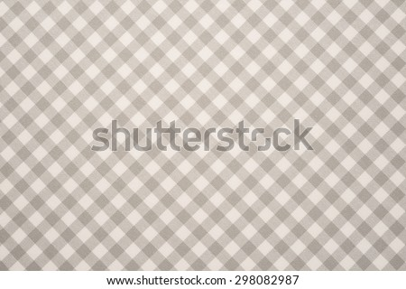 Grey and white tablecloth background   - stock photo