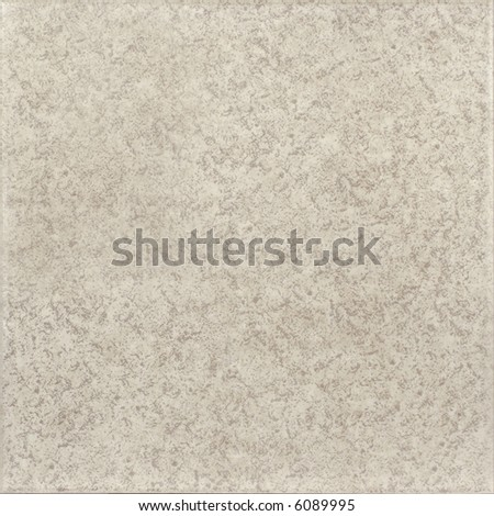 Grey ceramic tile with rough texture - stock photo