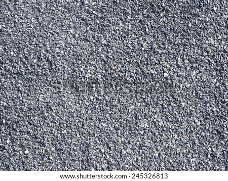 Grey Gravel stone texture background - stock photo