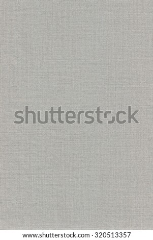 Grey Khaki Cotton Fabric Texture Background, Detailed Macro Closeup, Large Vertical Textured Gray Linen Canvas Burlap Copy Space Pattern
