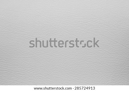 Grey leather texture, background - stock photo