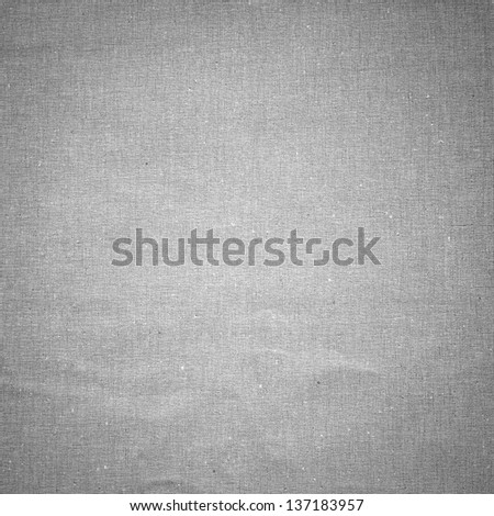 Grey linen texture background - stock photo
