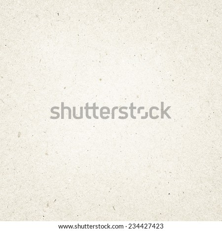 Grey recycled paper texture with copy space - stock photo