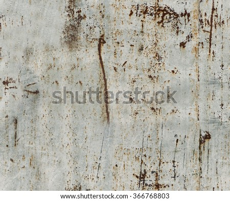 Grey scratched peeled rusty wall texture background.  - stock photo