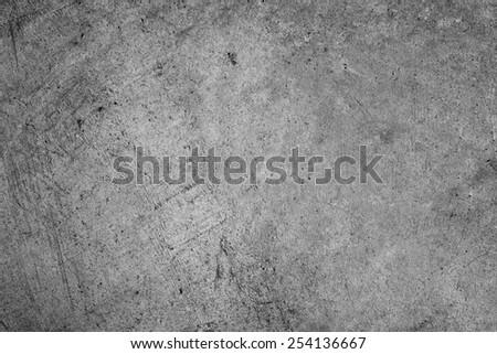 Grey textured concrete wall closeup - stock photo