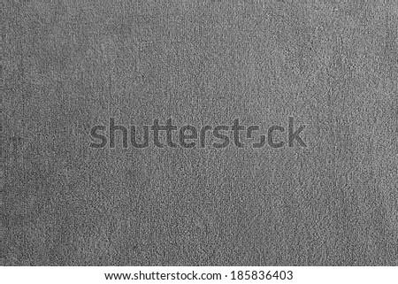 Grey Towel Fabric Texture Background. - stock photo