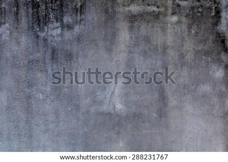 Grey wall background - stock photo