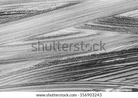 grey watercolor painted background texture - stock photo