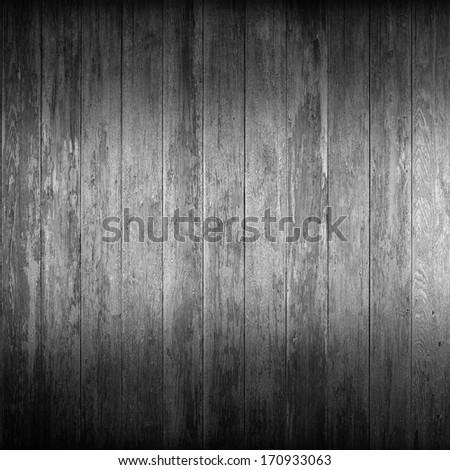 Grey Wood Background - stock photo