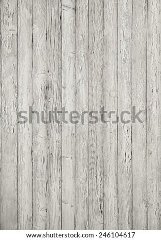 Grey wooden planking background.  - stock photo