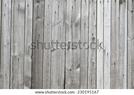 Grey wooden timber planks background - stock photo