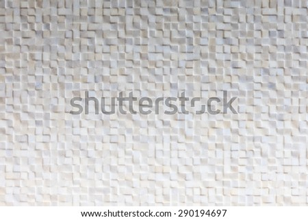 Grid tile concrete cement wall background texture with shade. - stock photo