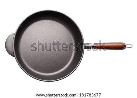 Griddle isolated on white background - stock photo